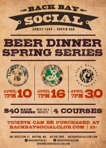 back bay beer dinners