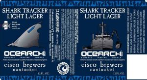 shark tracker label